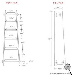 plans and instructions for a Roycroft magazine stand knockoff