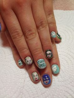 Best manicure ever! #ghostworld