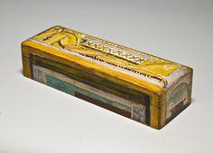 Duncan Grant. Painted box for Omega Workshop.