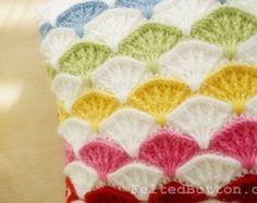 Crochet Pattern Sea Song Blanket Baby Afghan