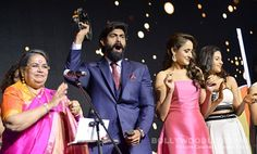 Rana Sudheer Vedhika Lakshmi dazzle at the prestigious South Indian Business Achievers Awards 2016!