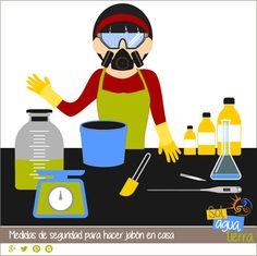 Cómo hacer jabón: Medidas de seguridad y precauciones.
