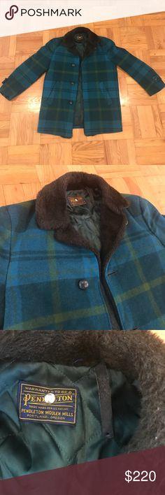 Vintage Men's Pendleton Coat Very clean/great condition vintage Pendleton coat. Pendleton Jackets & Coats Pea Coats
