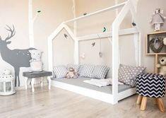 Nowe łóżko dziecięce domek skandynawski 14 rozmiarów KOLOR!