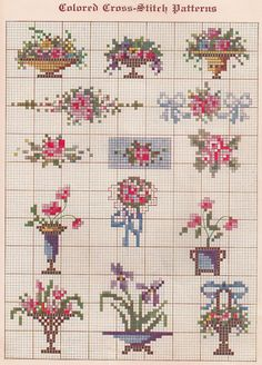 Thrilling Designing Your Own Cross Stitch Embroidery Patterns Ideas. Exhilarating Designing Your Own Cross Stitch Embroidery Patterns Ideas. Small Cross Stitch, Cross Stitch Borders, Cross Stitch Samplers, Cross Stitch Flowers, Counted Cross Stitch Patterns, Cross Stitch Charts, Cross Stitch Designs, Cross Stitching, Cross Stitch Embroidery