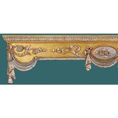 Elegant Wood Cornice-Inteior Mall Elegant Wood Cornice
