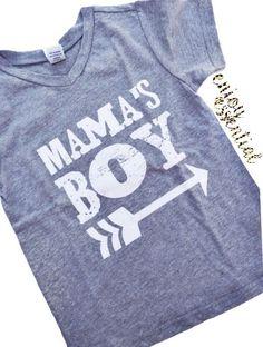 Mama's Boy Vnecks – enjoyessential
