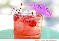 Homemade Russian Cherry Soda - Refreshing Summer Drink #Recipe More