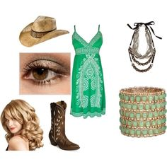 Country Outfit !!! LOVE the dress !!!