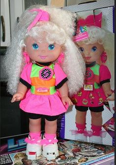 Mattel Sally Secrets Doll OMG this was one of my favorite toys ever. I think stickers came out of her shoes