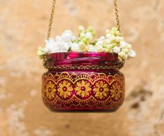 New Wedding Decorations Lights Outdoor Hanging Candles Ideas Small Lanterns, How To Make Lanterns, Candle Lanterns, Tea Light Candles, Ideas Lanterns, Hanging Jars, Hanging Candles, Moroccan Lanterns, Moroccan Decor