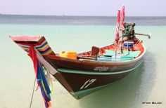Thai long-tail boat.  By TG member Mac, visiting in Thailand