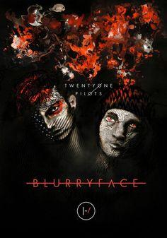 Twenty One Pilots - Blurryface - Mini Print A