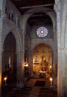 Santa Marina De Aguas Santas Allariz Orense Galicia Nave Mayor Y Presbiterio Xxxii Home Decor Fireplace Decor