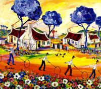 Large Prints (Memorable Days Collection) Printed in full colour (colourfast inks) by lithographic process triple. Africa Art, Out Of Africa, Pretty Pictures, Pretty Pics, South African Artists, Colorful Paintings, International Artist, Local Artists, Large Prints
