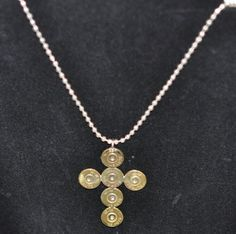 45 Auto  Pistol  Bullet  Cross  Custom Made  by OnTargetJewelry, $29.99