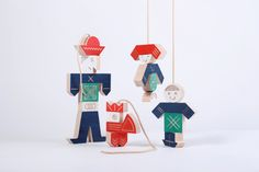 PuppetPlay by Michala Lipková, hravo Clothes Line, Soft Dolls, Wood Toys, Jouer, Puppets, Kids Toys, Handmade Jewelry, Fancy, Play