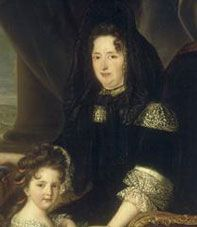 The secret wife of Louis XIV (1635-1719) Madame de Maintenon, the last great female figure in the reign of Louis XIV, first played the role of governess. Recommended by the Marquise de Montespan, then the mistress of Louis XIV, she looked after their children far from the court