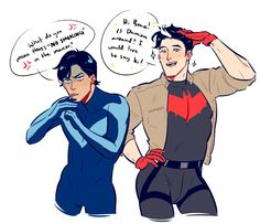 What if Dick and Jason switched their personalities