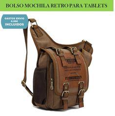 Bolsos originales, mochilas y bandoleras para tablets. Un complemento de moda que se lleva todo el año.