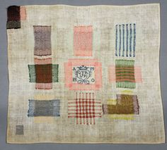 Sampler made in Deventer; (GTR 1791, Collection Ex Antiques Amsterdam)