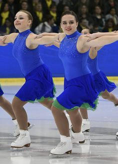 Competition Recap: 2017 Midwest & Pacific Coast Synchronized Skating Championships-Capital Ice Chill-Open Juv-Final Round