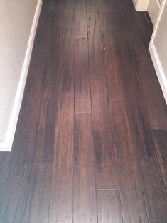 home decorators collection handscraped strand woven brown 3 8 in