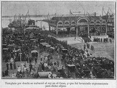 Alfonso XIII en la fábrica La Maquinista Valenciana (10 de abril de 1905)