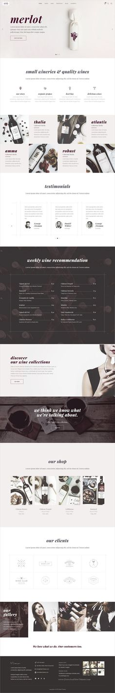 Vino is an elegant and modern design 9in1 responsive #WordPress theme for refined #winery, wine #bar and vineyard #eCommerce website download now➩ https://themeforest.net/item/vino-a-refined-winery-wine-bar-and-vineyard-theme/19757787?ref=Datasata
