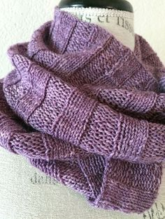 Crabapple Cowl Free Knitting Pattern Knit an easy and relaxing wide ribbed cowl. Using one skein of hand dyed Crabapple Posh Fingering yarn, you'll love the drape and feel of this luxurious fiber. It'