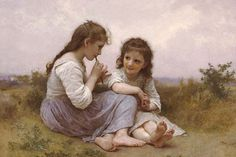 A Childhood Idyll, by William Bouguereau