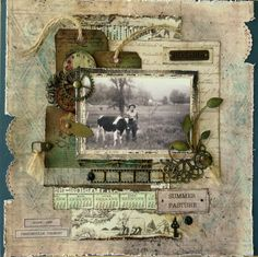 Summer Pasture - Prima - Timeless Memories Collection