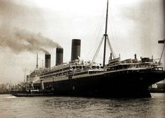 The new White Star Liner 'Majestic' the largest ship in the world - 10 April 1922