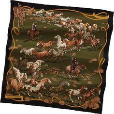 Hermes: Les Mustangs Scarf