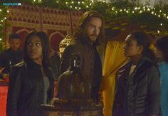 Abbie, Ichabod and Jenny search for Nick - season 2