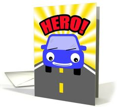 I just found this by accident! I guess GCU is pinning me! :) Heroes Drive Carpool -Thank You! Card by Jenny Fenlason