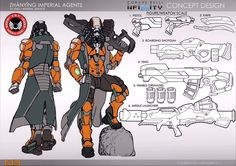 Corvus Belli showed off a lot of upcoming unit designs in development for Infinity at Adepticon Take a look: Game Character Design, Character Design Inspiration, Character Concept, Character Sheet, Character Development, Infinity Art, Infinity The Game, Armor Concept, Concept Art