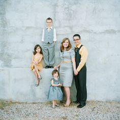 gorgeous family outfits, family photos, family portraits,Love the composition of this family photo and what they're wearing. Family Portrait Outfits, Family Outfits, Family Posing, Family Portraits, Picture Outfits, Picture Poses, Photo Poses, Photo Shoot, Portrait Poses