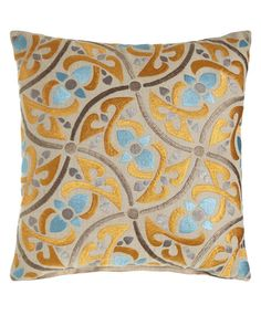Shop European Elegance Hudson Pillow from Sabira at Horchow, where you'll find new lower shipping on hundreds of home furnishings and gifts. Colorful Throw Pillows, Decorative Pillows, Comfy Sofa, European Home Decor, Living Room Inspiration, Home Furnishings, Home Accessories, Color Schemes, Elegant