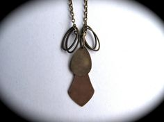 Vintage Bras Pendant Necklace Hipster City by HomeGrownIllinois, $15.00