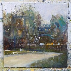 Chris Prout: work in progress for the Chatsworth exhibition opening at gallerytop on 10 May 2014