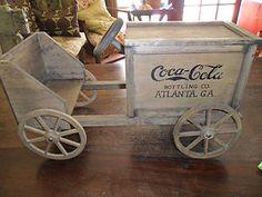 Vintage Coca Cola Wooden Truck No. 3