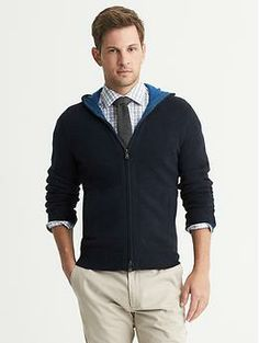 Cashmere Hooded Cardigan from Banana Republic. #NatickMallPerfectPresent