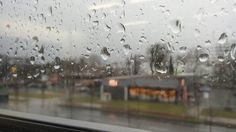 Rainy-Day Timelapse Through Window