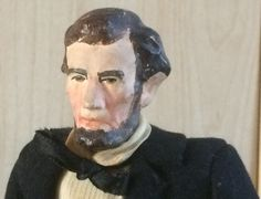 Abraham Lincoln Doll - Tagged - Kimcraft American Type Doll - Kimport Presiential Doll - Historical Character Doll - Vintage Artist Doll by VtgDollCloset on Etsy https://www.etsy.com/uk/listing/478815820/abraham-lincoln-doll-tagged-kimcraft