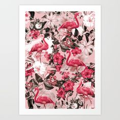 Floral and Flemingo III