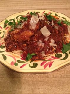 In-House Cook:  Puerto Rican Chicken and Spaghetti You may well h...