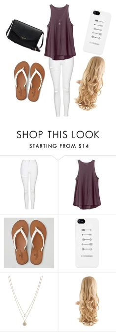 """Untitled #27"" by cynthiaxgarcia on Polyvore featuring Topshop, RVCA, American Eagle Outfitters and LC Lauren Conrad"