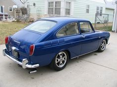 1969 VW fastback - got to love that shape