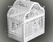 3D SVG PDF Birdcage DIGITAL download